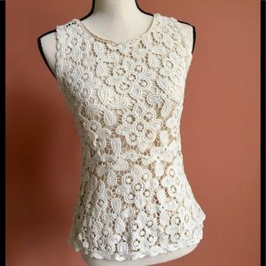 Cynthia Rowley Crochet Top